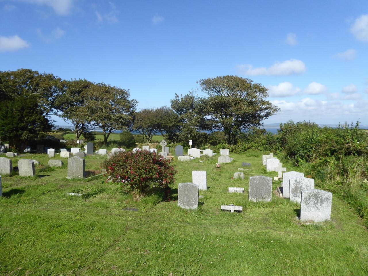 Paul, Cornwall: the extended churchyard (Keith Salvesen)