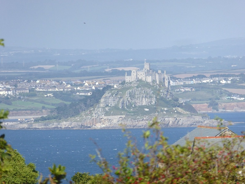 St Michael's Mount from Paul Churchyard, Cornwall (Keith Salvesen)