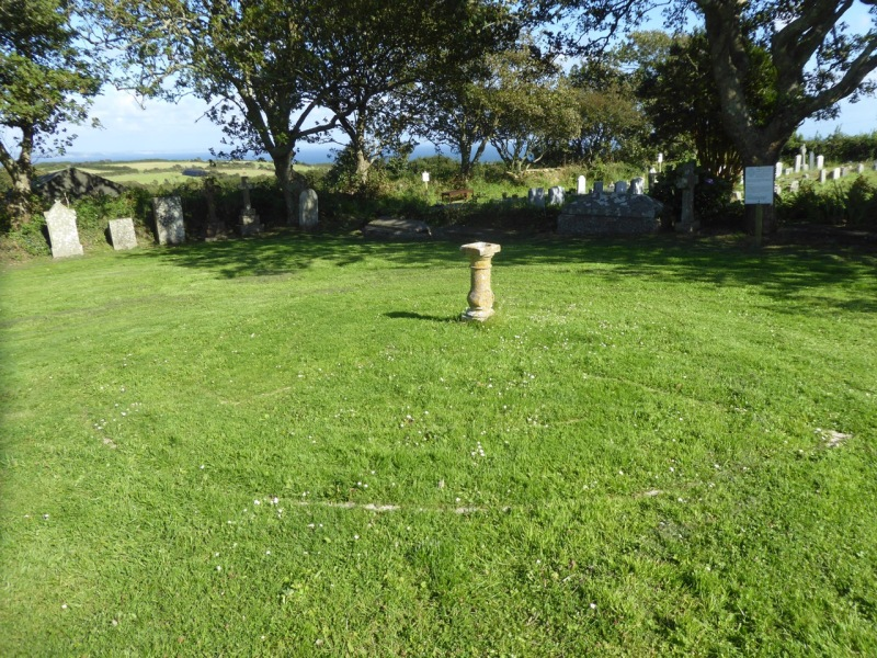 MAZE AT ST POL DE LÉON CHURCHYARD, PAUL, CORNWALL