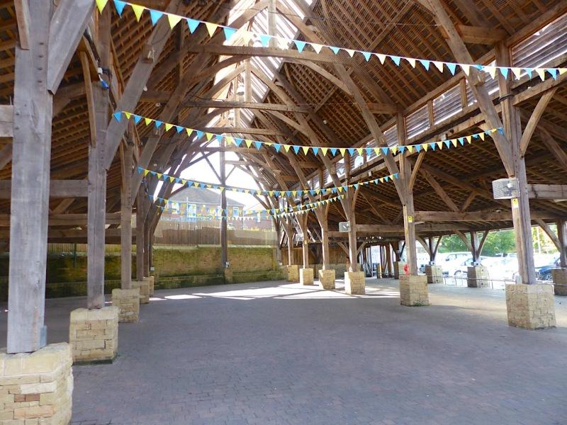 Cruck Market Hall, Penistone Yorks (Keith Salvesen)