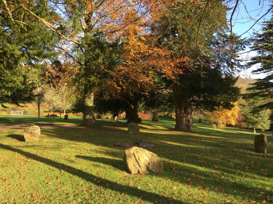Stone Circle at Milton Abbey, Dorset (Keith Salvesen)