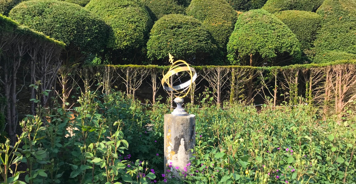 ARMILLARY SPHERE SUNDIAL: KINGSTON LACY, DORSET (Keith Salvesen)