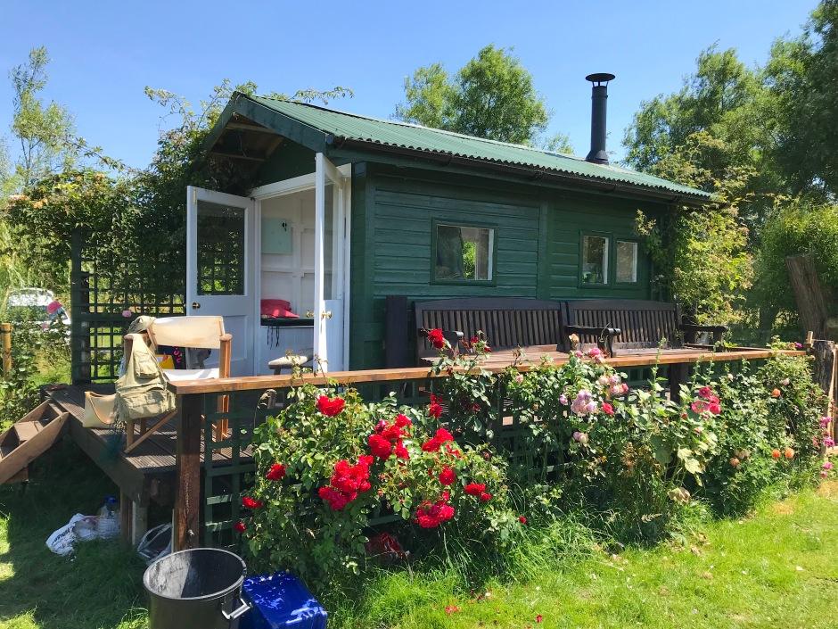 Fishing Hut, River Test Hampshire (Keith Salvesen)