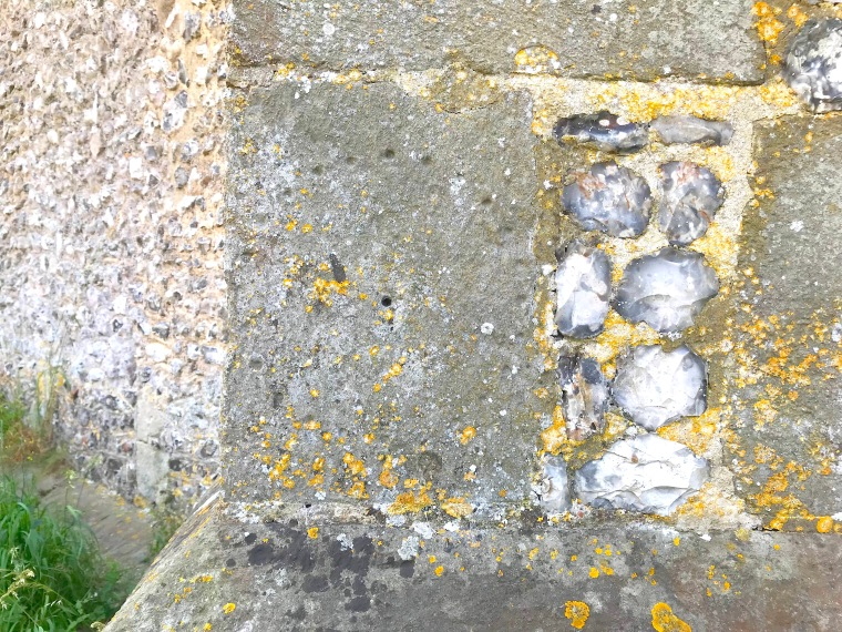 Litlington Church, East Sussex: the sundials (Keith Salvesen)