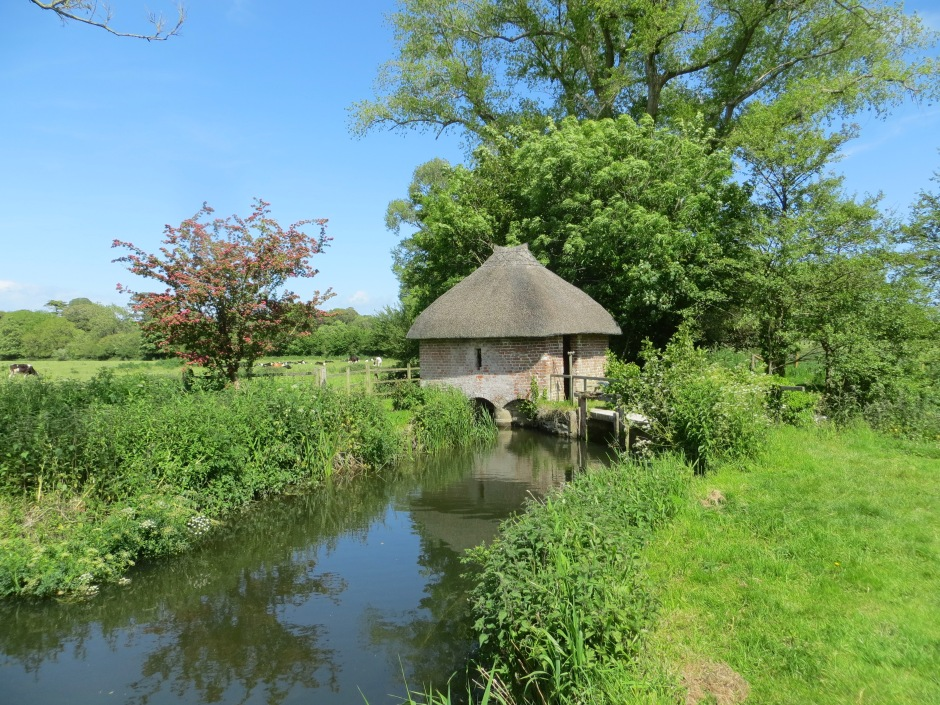 Fishing Hut on the River Frome, Dorset (Keith Salvesen)