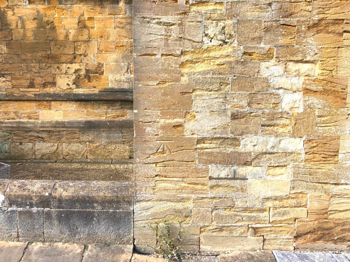 Sherborne Abbey, Dorset benchmark 2 (Keith Salvesen)