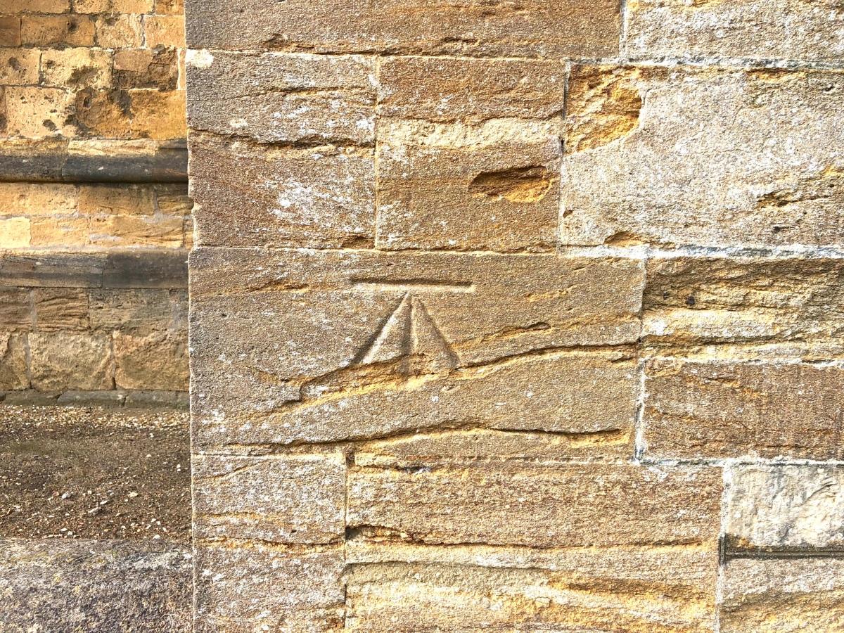 Sherborne Abbey, Dorset benchmark 3 (Keith Salvesen)