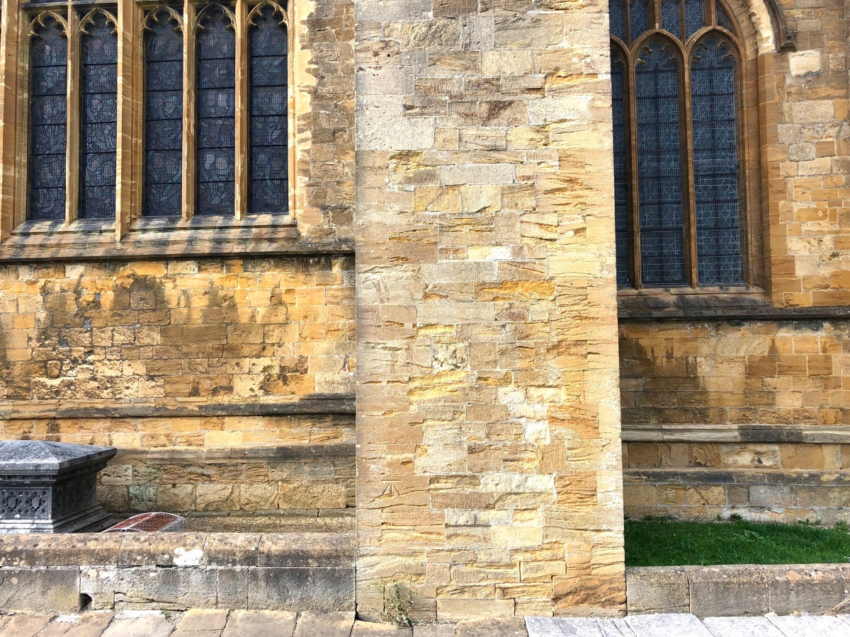Sherborne Abbey, Dorset benchmark 1 (Keith Salvesen)